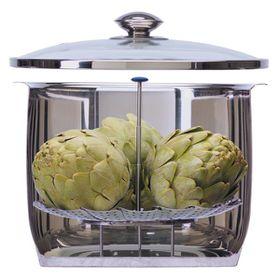 Progressive Kitchenware - Adjustable Steamer Basket - Silver