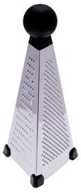 Progressive Kitchenware - Tower Grater - 23 x 8 x 8cm - Silver
