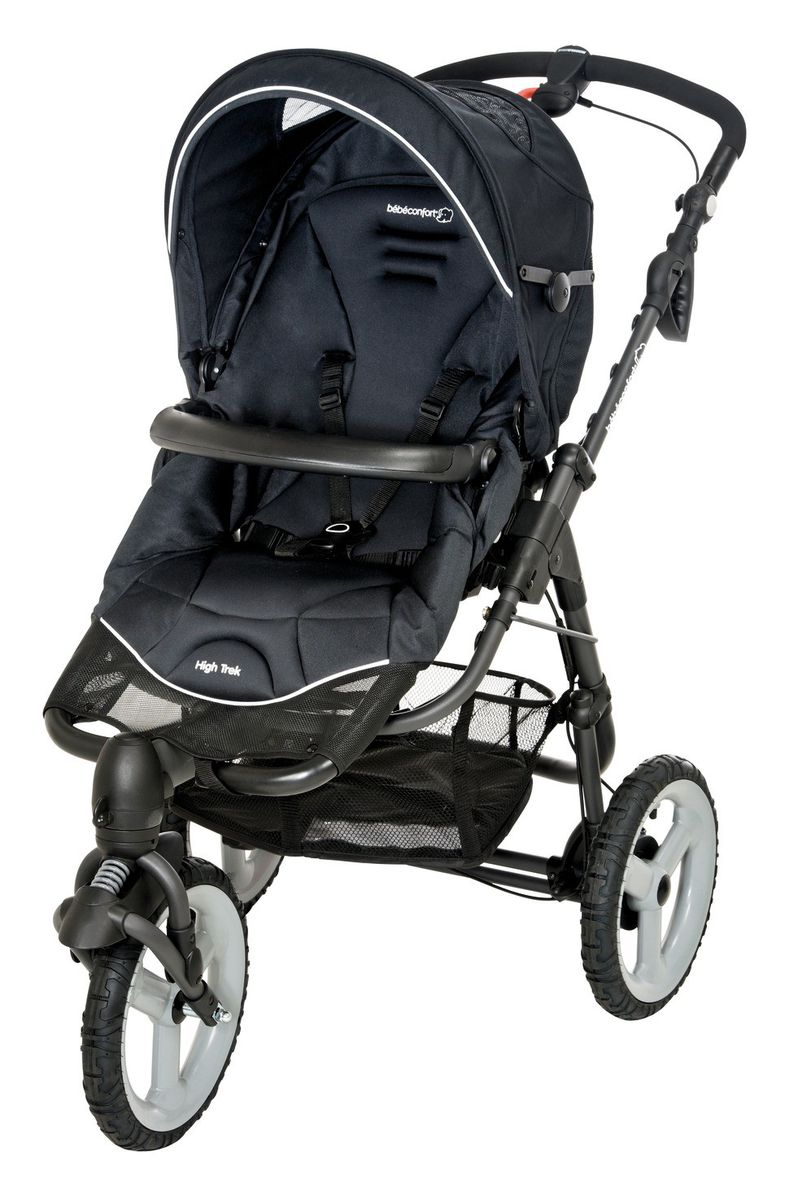 bebe confort high trek stroller black buy online in. Black Bedroom Furniture Sets. Home Design Ideas
