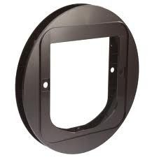 SureFlap - Mounting Adaptor For Glass installations - Brown