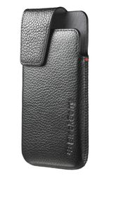 BlackBerry  Z10 - Leather Swivel Holster - Black
