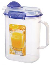 Sistema - Klip It - 1.5 Litre Juice Jug - 17.3 x 10.8 x 20.2cm