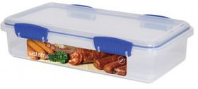 Sistema - Klip It - 1.75 Litre Deli Storage Container - 29.2 x 15.2 x 6.8cm