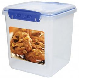 Sistema - Klip It - 2.35 Litre Cookie Storage Container - 14.9 x 15.4 16.3cm