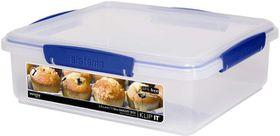 Sistema - Klip It - 3.5 Litre Bakery Box Storage Container - 26.2 x 23.7 x 8.5cm