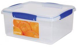 Sistema - Klip It - 5 Litre Rectangular Food Storage Container - 26.2 x 23.7 x 12cm