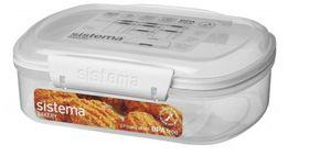 Sistema - Klip It - 685ml Bakery Storage Container - 17.6 x 13.2 x 6.1cm