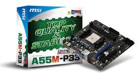 MSI AMD A55M-P33 Hudson Chipset - Socket FM1