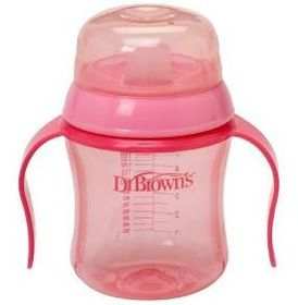 Dr.Brown's - 170ml Soft Spout Training Cup - Pink