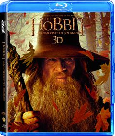 The Hobbit: An Unexpected Journey (2012) 4 Disc (3D + 2D Blu-ray)