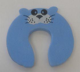 Foam Door Stopper - Blue Mouse