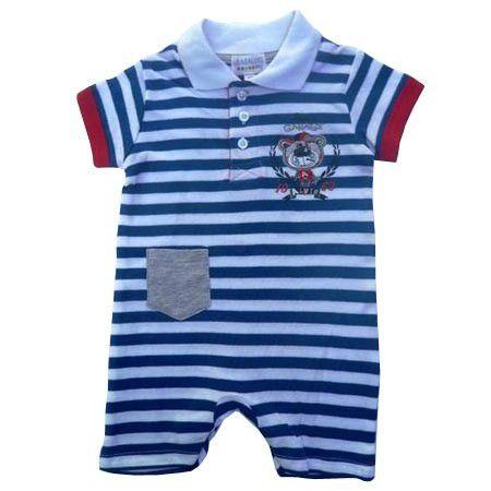 Gorgeous Kids Alvin Polo Romper Size 9 12 Months Buy Online