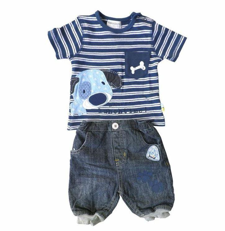 Gorgeous Kids Puppy Jean Set Size 9 12 Months Buy Online In