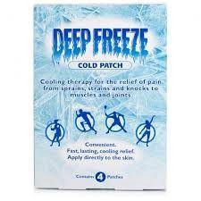 Deep Freeze Pain Patch -68584