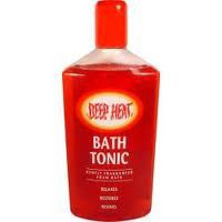 Deep Heat Bath Tonic 250ml