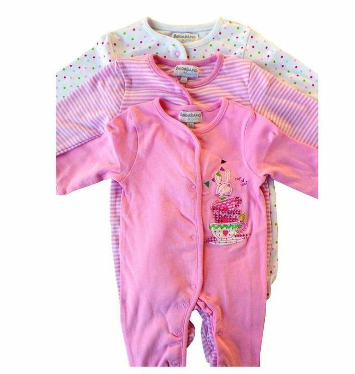 Gorgeous Kids Tea 3 Pack Sleepsuit Size 9 12 Months Buy