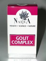 Gout Complex Capsules 60 Nativa