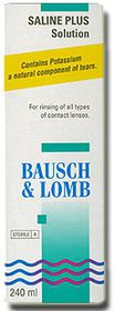 Bausch & Lomb Soflens Saline Plus Solution 360 ml