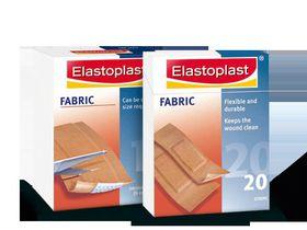 Elastoplast Fabric Plaster Assorted - 40's - 47085