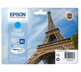 Epson T7022 XL Cyan Ink Cartridge