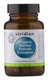 Viridian Herbal Female Complex Vegetarian Capsules Organic