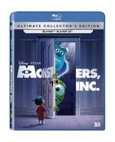 Monsters Inc. (3D & 2D Blu-ray)
