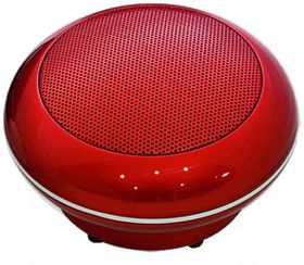 Divoom Bluetune - Pop Bluetooth Speaker - Red