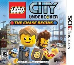 Lego City Undercover The Chase Begins (3DS)