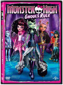Monster High:Ghouls Rule (DVD)