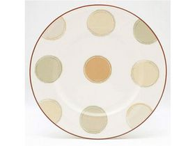 Noritake - Mocha Java Side Plate - White and Brown - (17 x 17 x 1cm)