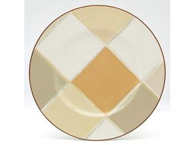 Noritake - Mocha Java Entree Plate 24.5cm - White and Brown - (24 x 24 x 1cm)