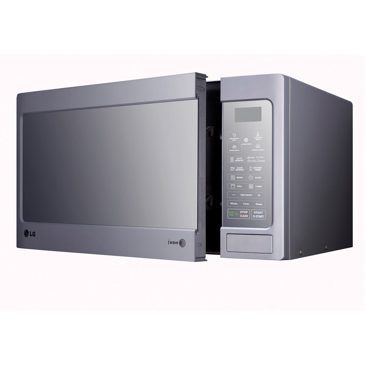 lg 40l microwave oven 1000 watt mirror silver mh8042gm. Black Bedroom Furniture Sets. Home Design Ideas