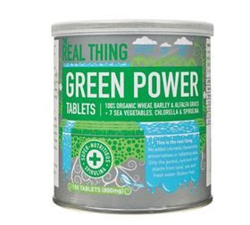 The Real Thing Green Power Tablets -150