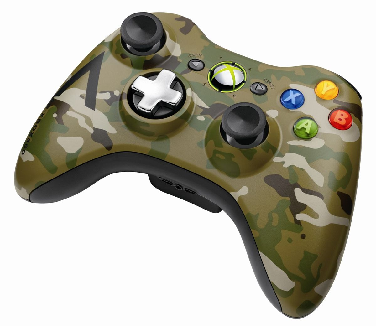 Official Xbox 360 Wireless Controller Camo (xbox 360) | Buy Online ...