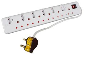 Ellies 12 Way Multiplug with Surge Protection