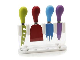 Maxwell and Williams - Slice and Dice Cheese Knife Block Set