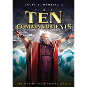 The Ten Commandments (Region 1 Import DVD)