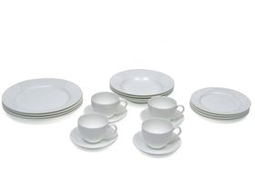 Maxwell and Williams - Cashmere Rim Dinner Set - 20 Piece - Gift Boxed