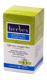 Herbex Appetite Control - 90 Tablets