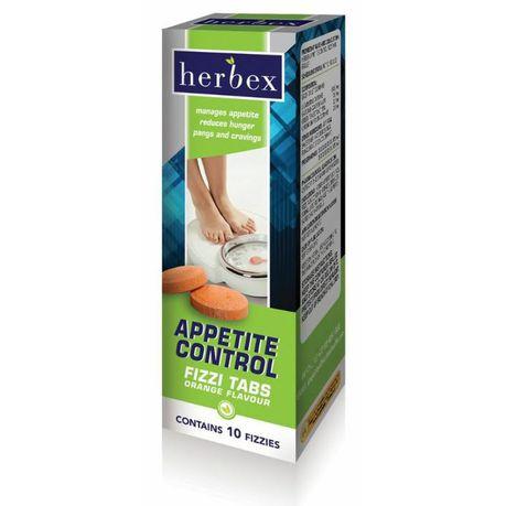 Herbex Appetite Control 10 Fizz Tablets