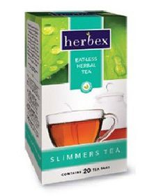 Herbex Slimmers Eat-Less Tea - 40
