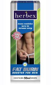 Herbex Booster Fat Burn Drops For Men - 50ml