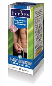 Herbex Fat Burn Drops For Men -100ml