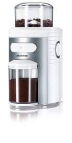 Severin - Coffee Grinder - White & Silver