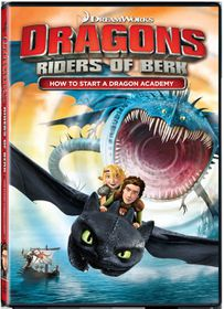 Dragons: Riders of Berk How To Start A Dragon Academy (DVD)