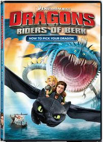 Dragons: Riders of Berk How To Pick You Dragon (DVD)