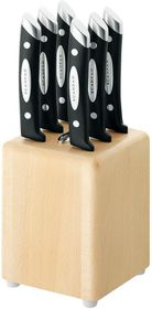 Scanpan - Classic 6 Piece Steak Knife Block Set