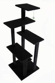 Scratzme - Fivestar Scratching Post - Grey & Charcoal