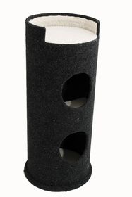 Scratzme - Sleepy Hollow Scratching Post - Grey & Charcoal