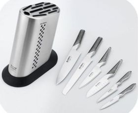 Global - Knife Block Set With 6 Piece Knife